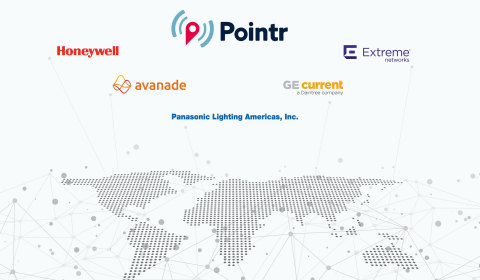 Honeywell, Panasonic Lighting Americas, Extreme Networks among the latest partners to join the Pointr WorkSafe™ Ecosystem (Graphic: Business Wire)