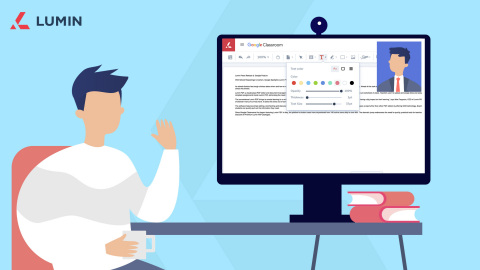 Lumin PDF empowers students, teachers, and businesses to focus on the work they do best with an intuitive suite of cloud-based PDF collaboration tools. (Photo: Business Wire)
