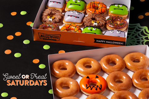Krispy Kreme is saving Halloween from scares with new 『Reverse Trick-or-Treating』 along with three NEW Scary Sweet Monster Doughnuts and a FREE doughnut for guests in costume Oct. 31 (Photo: Business Wire)