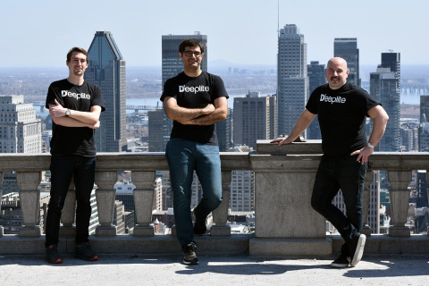 Deeplite co-founders Davis Sawyer, Ehsan Saboori and Nick Romano announced that Deeplite raised a $6M series seed to enable AI for everyday life. (Photo: Business Wire)