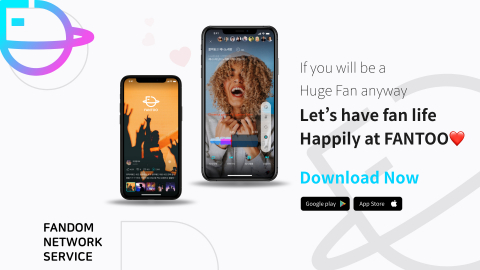 FNS Co., Ltd launches the app service of FANTOO, a global fandom network platform for Hanryu Fans, in 175 countries. FANTOO was developed for 100 million K-Fans across the world. The FANTOO app provides a fan club creation, user reward, multi-lingual chatting & translation, a messenger with improved security, FANTOO Karaoke for live concert, artists' live streaming, voice call and chat, and AI-based Deepfake and adult content detection. (Graphic: Business Wire)