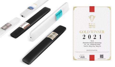 TA 15-2021 MUSE Design Award Gold Winner (Photo: Business Wire)