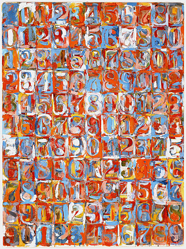 Jasper Johns, Numbers in Color