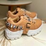Tênis Chunky Feminino com Pedraria Removível Conforto e Estilo Loja Online MM Store Shoes (6)
