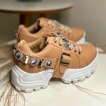 Tênis Chunky Feminino com Pedraria Removível Conforto e Estilo Loja Online MM Store Shoes (8)