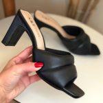 Tamanco Feminino Preto Confort Calçados Femininos Coleção Verão Moda e Tendencia Loja Online MM Store Shoes (28)