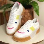 Tênis Feminino Juliete Branco Nova Coleção Primavera Verão Loja Online Mm Store Shoes Moda e Tendência calçadista (4)