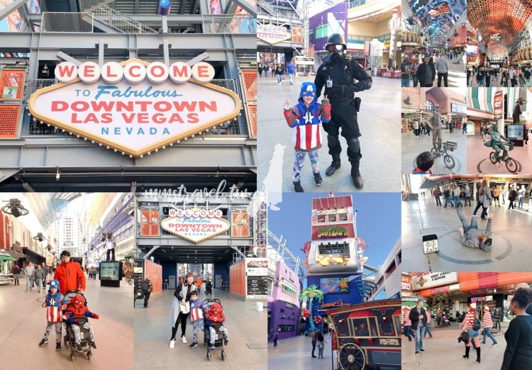 【美國】Las Vegas拉斯維加斯必去景點:舊城區弗蒙街Fremont Street Experience步行街,感受美式街頭創意表演!