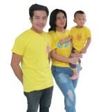 เสื้อเหลืองคอ กลม เสื้อวันพ่อ father datyปี2016