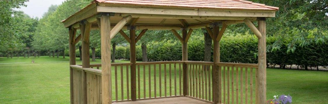 Square Garden Gazebo Amp Wooden Structures M Amp M Timber