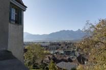 Ausblick vom Schloss Thun