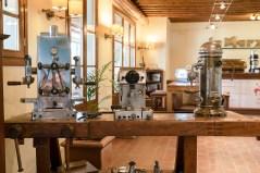 Die ersten La Marzocco Kaffeemaschinen