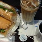 卵とハムのサンドイッチ