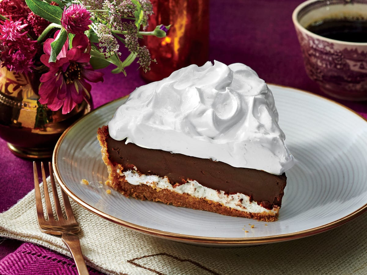 deep dish chocolate pie