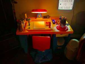 Cecelia's workspace