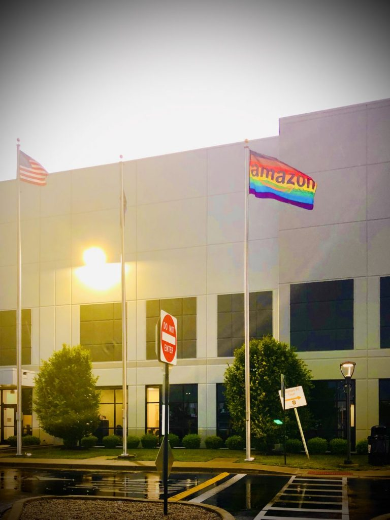 amazon rainbow flag