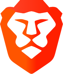 brave browser logo- lion