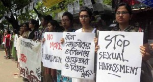 protest against sexual harassment
