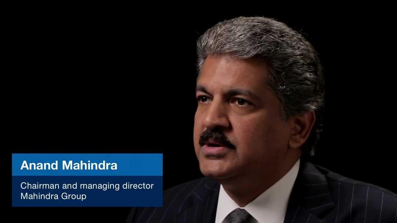 Anand Mahindra Founder The Federator