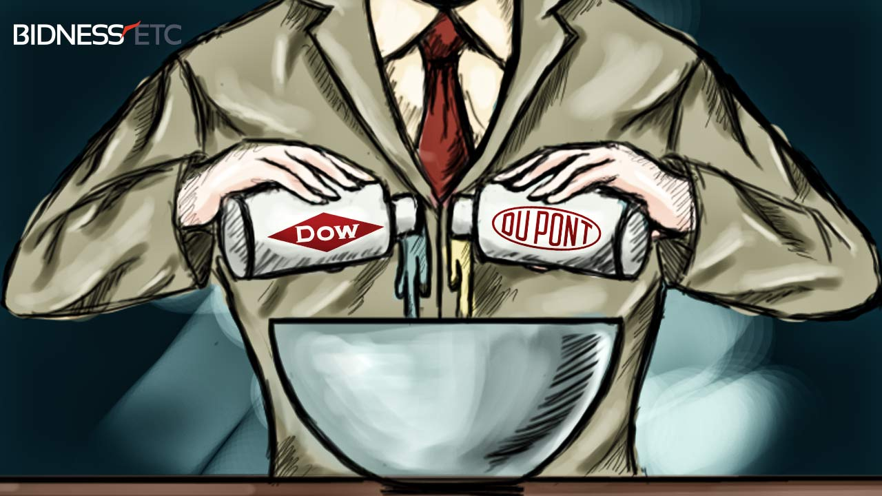 DOW and DUPONT Global Mega Merger