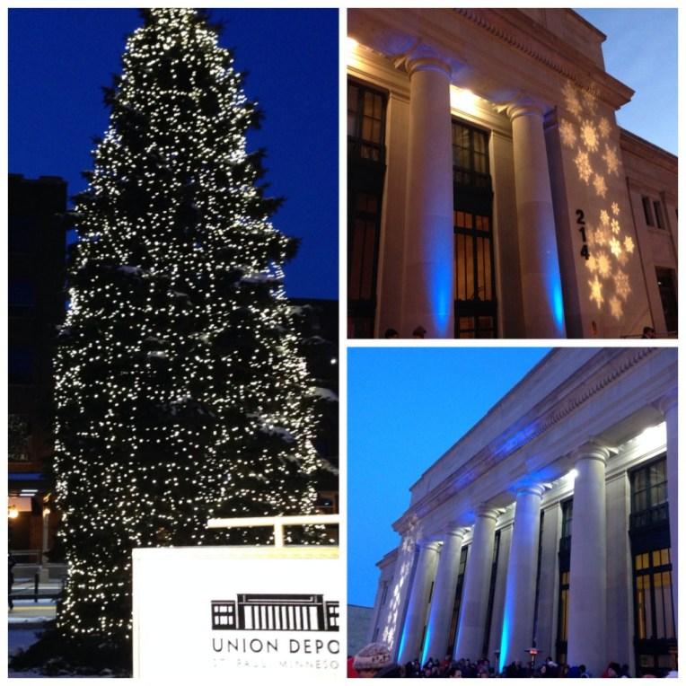 Union Depot Tree Lighting