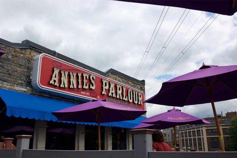 Annie's Parlour Dinkytown Minneapolis Minnesota
