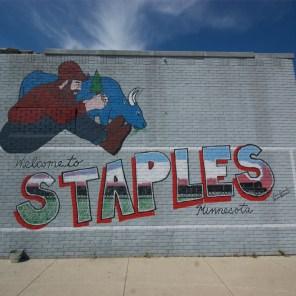 Mural. Staples, MN.