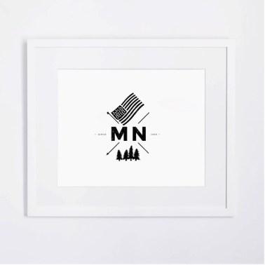 MN Crest Print $17.99 [The Voice Community]