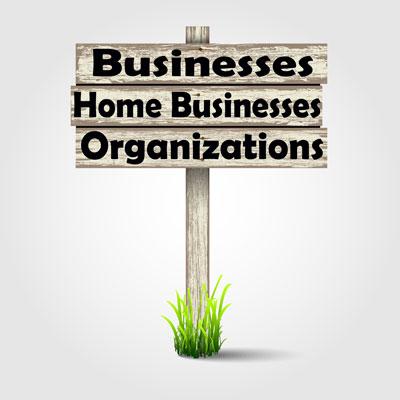Business, Organization, Church