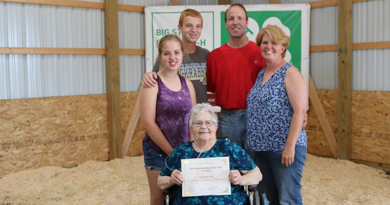 Arens Family Named Big Stone County Farm Family of the Year