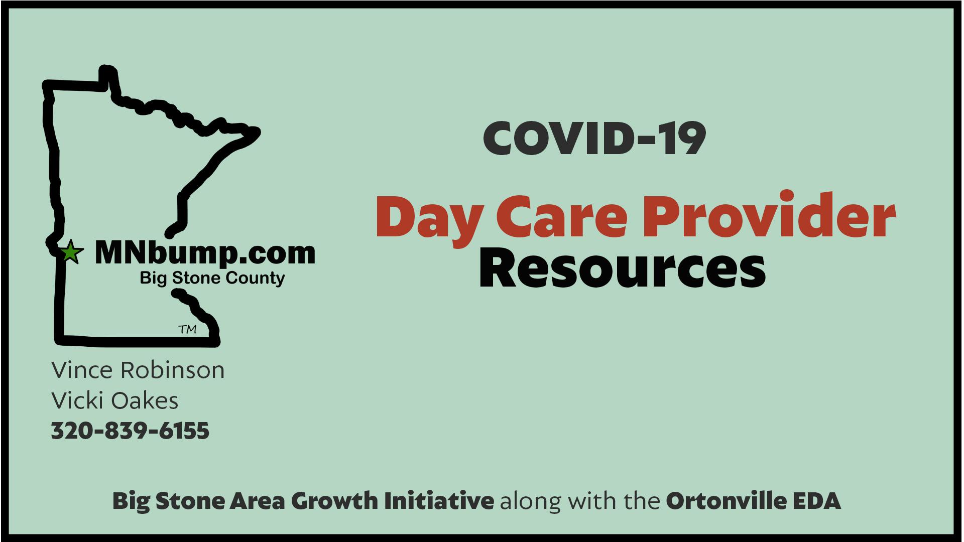 COVID-19 Child Care Provider Resources