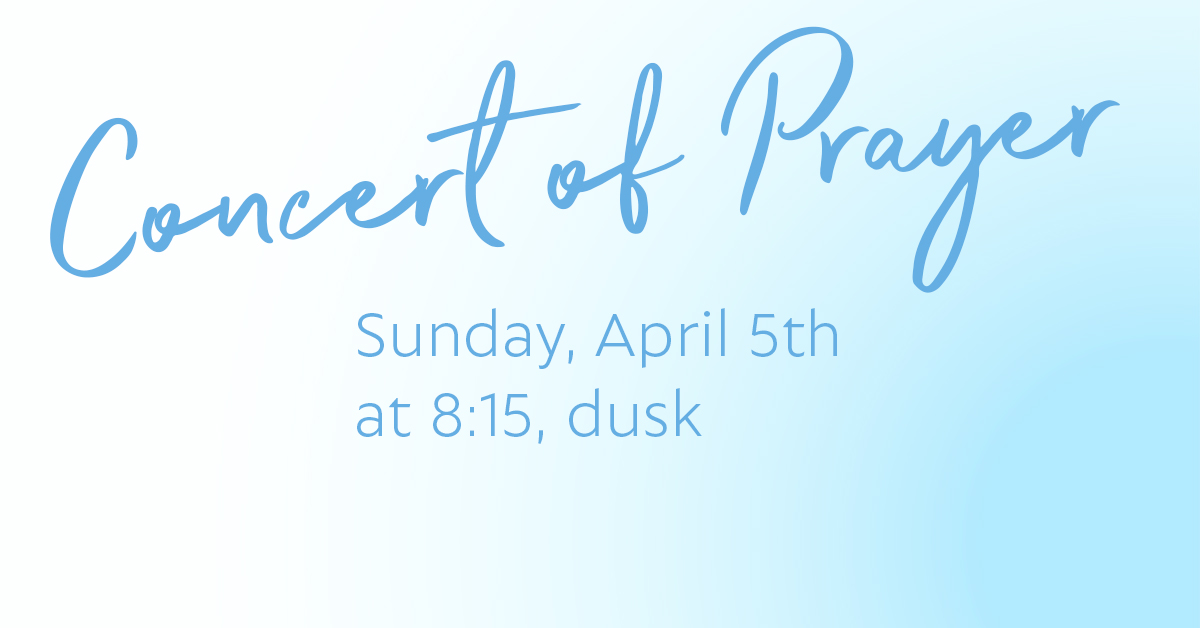 Concert of Prayer