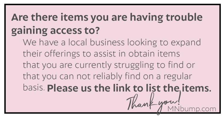 Help Request – Need Access to Items?  COVID-19