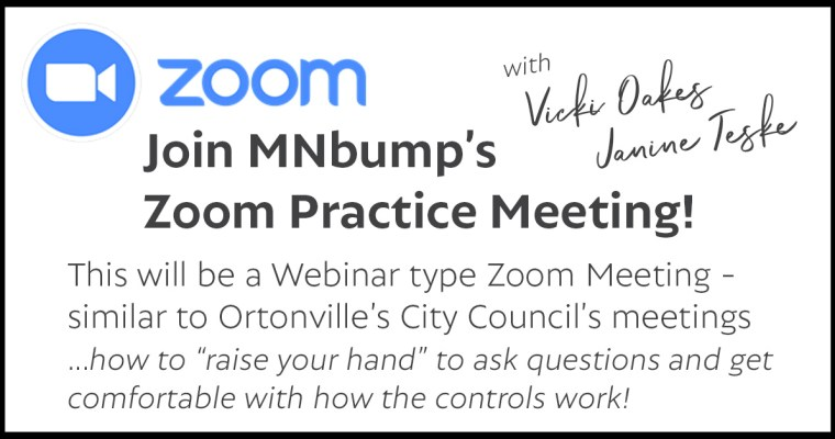 Zoom PRACTICE Meeting