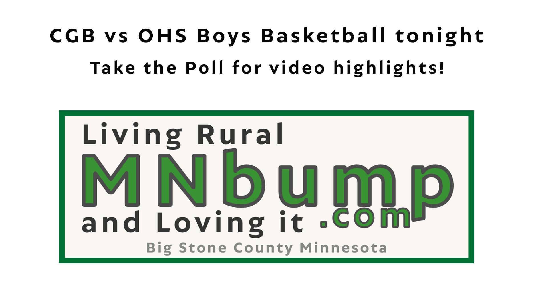 CGB vs OHS Boys Basketball 7th & 8th