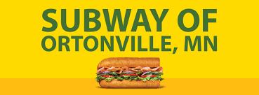 subway of ortonville