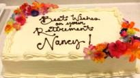 Retirement Cake with silks