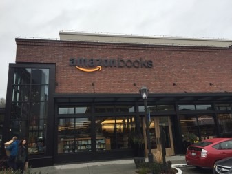 The first ever Amazon bookstore