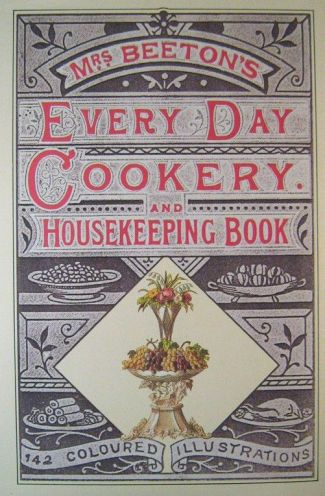 1865 Antique Victorian Cookbook