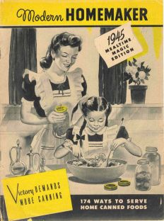 Cookbook featuring home canned items.