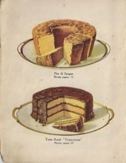Italian Cake from a 1920's Cookbook