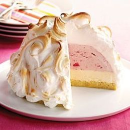 Baked Alaska was another popular desert in the 1950's.