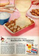 Easy Banana Pudding ad, 1956.