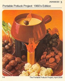 Fondue party's in the 60's