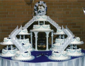 Wedding Cake of the 70's