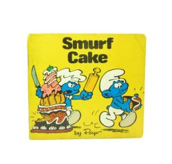 Smurf Cake, child's book of the 80's
