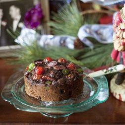 Fruitcake made with 100 year old family recipe.