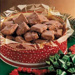 English Toffee, this recipe can be found on Taste Of Homes website.
