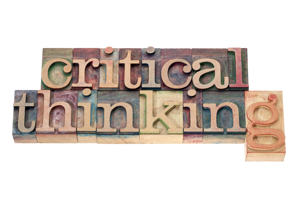 critical thinking wood blocks