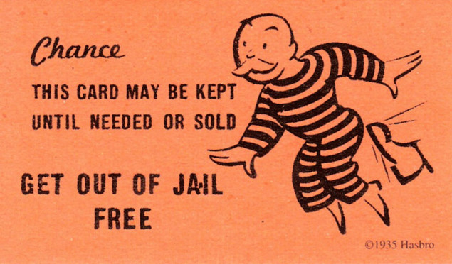 get out of jail free card